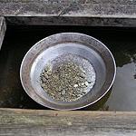 Goldwaschpfanne