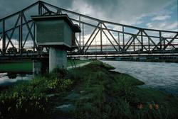 Hydrometrische Messstation Rhein-Diepoldsau, Rietbrücke